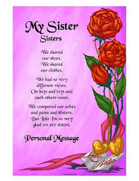Prayer For My Sister Quotes Unique I Love My Sister Poems