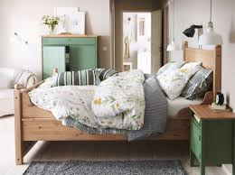 ikea bedroom designs. Amazing Ikea Bedroom Ideas With Solid Pine Wood Bed Frame Which Has Redcliffe Headboard Shapes And Designs