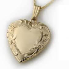 locket size photos juliet gold filled heart locket