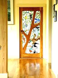 stained glass interior stained glass door stain inserts front doors pertaining to decor s