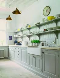 Shelves In Kitchen Open Wood Shelves In Kitchen Marble Counter Top Cream Area Ceramic