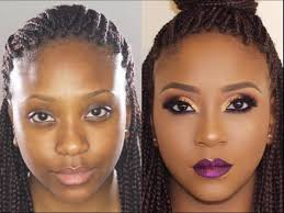 bare to glam total makeover makeup transformation 5 poised by suliat you makeup videos makeup transformation makeup makeover and