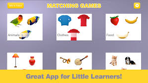 Baby Games - First Words Matching Game for Toddler Boys & Girls ...