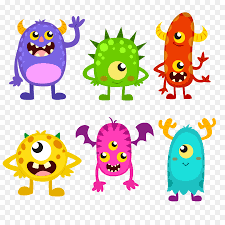 monster party monster cartoon line png