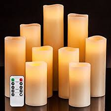 flameless candles with remote within com homemory realistic candle battery designs 1