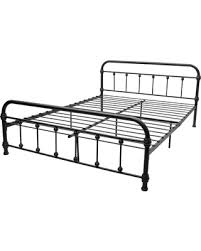 Canora Grey Barnette Queen Size Platform Bed Color: Black, Size: Full from Wayfair | People