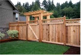 wood fence backyard. Beautiful Backyard Wood Fence Ideas For