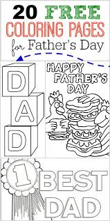 Small Picture 20 FREE Fathers Day Coloring Pages Coupon Closet