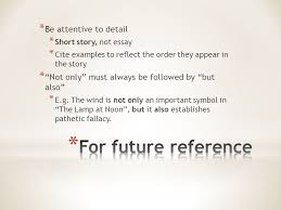 today s checklist short story paragraph response return be attentive to detail short story not essay cite examples to reflect