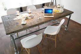 Tisch Industrie Stil Modell Kapstadt Massiv Modern Neu Gerüst Holz Esstisch Vintage Gartentisch