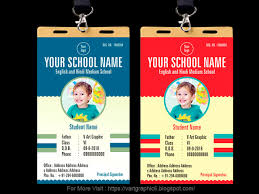 Latest Id Card Design For Your School Child Freelance Graphic