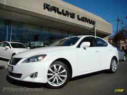 lexus is 250 2008 white. Fine White Starfire White Pearl  Black Lexus IS 250 AWD And Is 2008 2