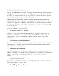 Objectives To Write On A Resume Best Of Resume Objective Statement Samples Sample Resume Objectives For