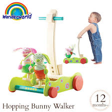 wonder world hopping bunny walker 1 year old tyww1217 wonderworld presents toy 1 year old cognitive