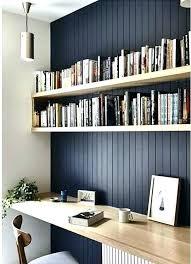 shelf mounted ikea desk wall