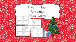 christmas placecard templates free printable christmas place cards have the kids help