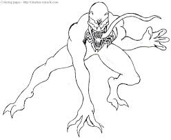 Coloring books for boys and girls of all ages. Spiderman Venom Coloring Pages Photo 11 Timeless Miracle Com