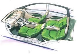 car interior sketch. Simple Car With Car Interior Sketch C