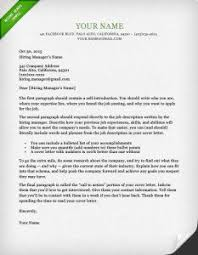 Examples Of Cover Letter For Resume 16 Dublin Green Cover Letter Template