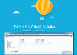 if you leave the programme and go back into it again the file you are looking to open in kindle kids book creator is the content opf file