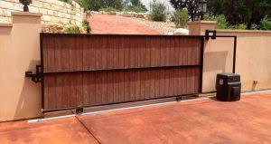 residential slide gate service