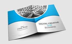 Folder Design Business Presentation Folder Corporate Identity Template