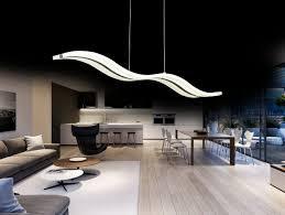 Eclairage Moderne Salon Avec Luminaire Cuisine Moderne Idees Et