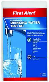 first alert water testing kit