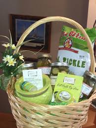 when in a pickle eat a pickle gift basket
