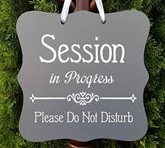 Quiet Please Hanging Chalkboard Sign Quiet Please Treatment In