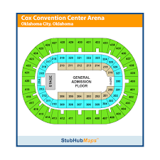 Cox Convention Center Seating Chart Cox Convention Center Events And Concerts In Oklahoma City