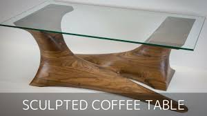 unique wood furniture. Incredible Walnut Sculpted Coffee Table Build By Pedulla Studio Pics Of Unique Wood Furniture Styles And N