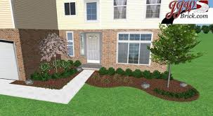 simple landscaping ideas home. Simple Landscaping Ideas. Surprising Green Round Traditional Grass Front Yard Ideas Decorative Mixed Home L