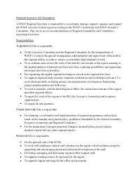 """Secretary General €"""" Job Description - Efpsa"""