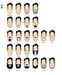 A Master List Of Beard And Mustache Charts Zouch