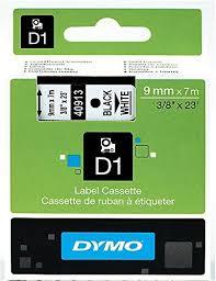 5 x <b>Dymo D1</b> Standard Labelling Tape 40913 (<b>S0720680</b>) 9mm x ...