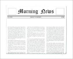 Newspaper Template For Docs Student Newspaper Template Google Doc Classroom Newsletter