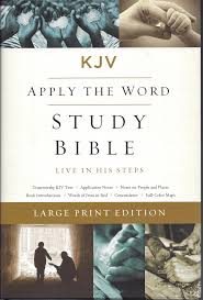 Kjv Apply The Word Study Bible Large Print Hardcover Red
