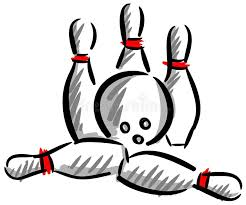 Pingwin bawić się kręgle ilustracja wektor. Ilustracja złożonej z pingwin -  42558725