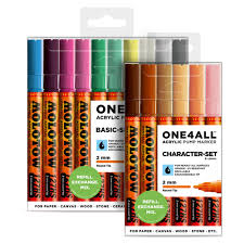 Molotow One4all Color Chart Molotow One4all 127hs Acrylic Marker Sets