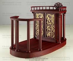 dark mahogany furniture. Luxurious Hand Carved Sephardic Dark Mahogany Wood Bimah W/ Inclosure \u0026 Gold Ornaments Furniture