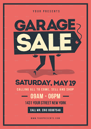 Free For Sale Flyer Template 006 Yard Sale Flyer Template Free