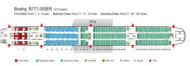 air china airlines boeing 777 300er aircraft seating chart
