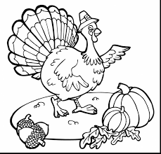 remarkable thanksgiving turkey coloring pages with thanksgiving ...