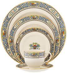 1950'S Dinnerware Patterns Custom Amazon Lenox Autumn GoldBanded Fine China 48Piece Place