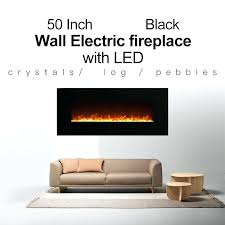 1500w 50 black wall mounted electric fireplace heater fire flame wall mount electric fireplace