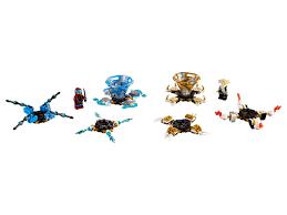 LEGO® Ninjago - Spinjitzu Nya & Wu 70663 (2019)   LEGO® Preisvergleich  brickmerge.de