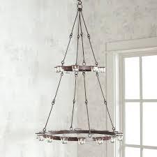 tabletop chandelier candle holder hanging crystal chandelier candle holder view in gallery hanging votive chandelier candle holder