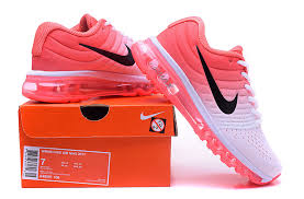 nike shoes air max 2017. womens nike air max 2017 trainers orange white running shoes girl 8495601 106