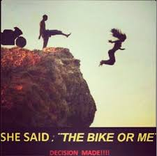 Some Decisions Are Easy Motorcycle Sportbike Rider Quote Beauteous Bike Quotes